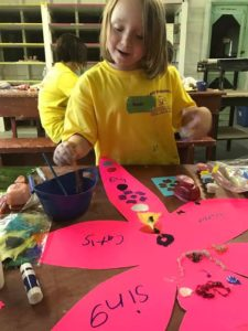 Children learn how to cope with grief and loss through many projects at Camp Dragonfly.