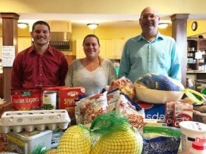 TD Bank Employees donate Thanksgiving Dinner to Hospice House
